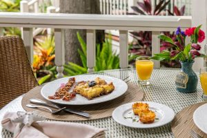 Plated Breakfast at The Addison on Amelia Island