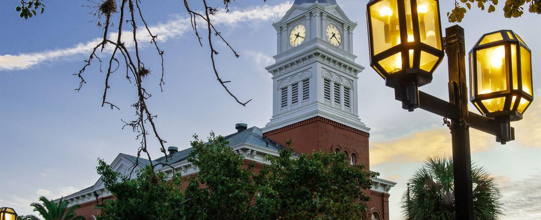 Clock Tower on Amelia Island