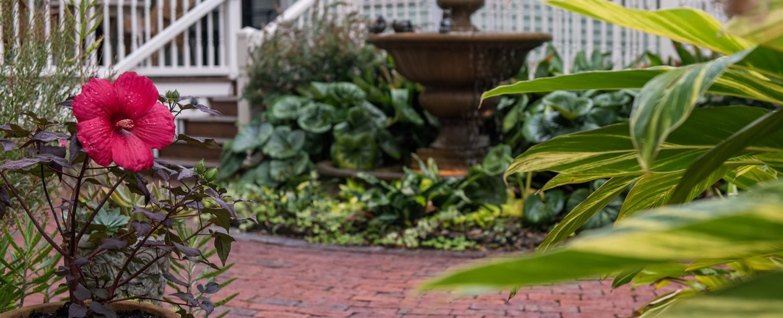 Courtyard at The Addison on Amelia Island