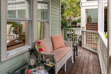 Room 7 at The Addison on Amelia Island - patio area
