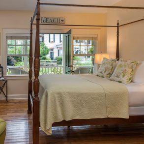 Room 8 at The Addison on Amelia Island - view of bed