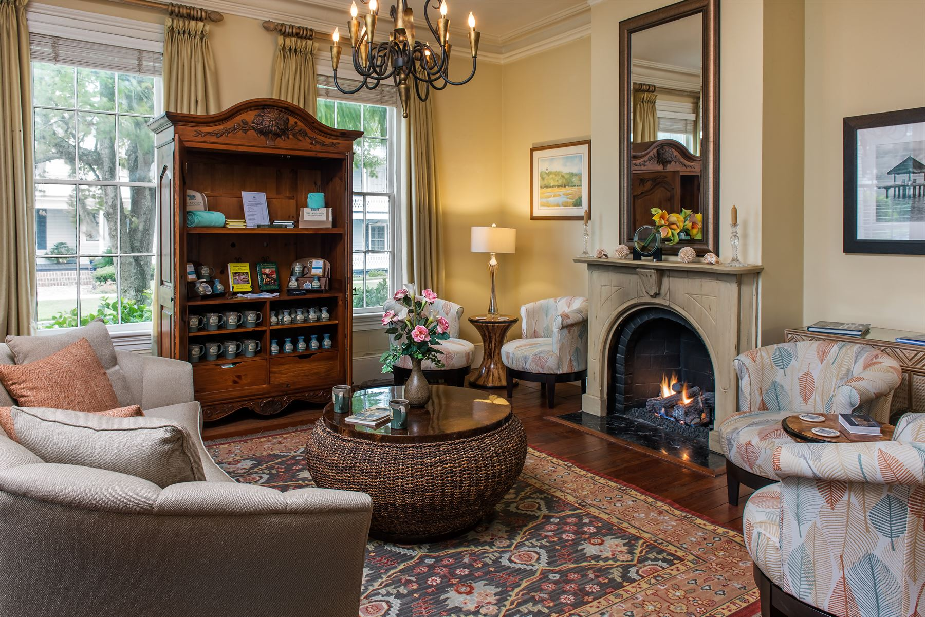 The Parlor at The Addison on Amelia Island
