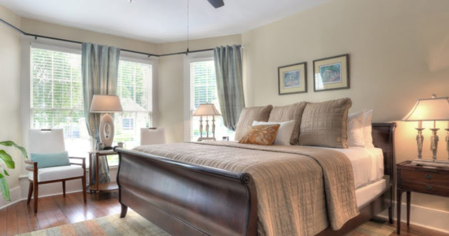 Bedroom at The Addison on Amelia Island