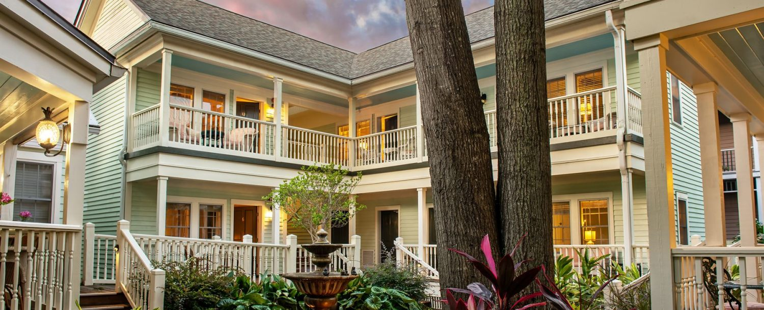 Courtyard at The Addison on Amelia Island