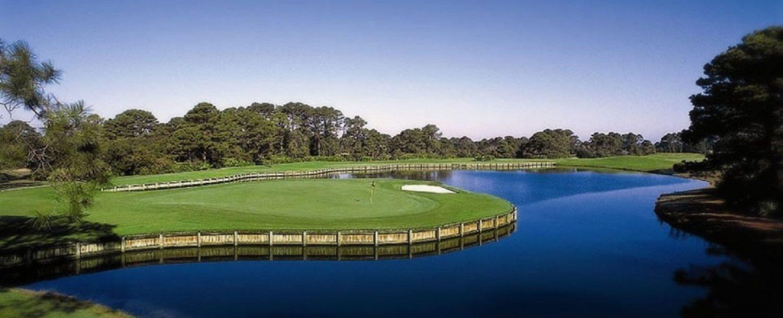 Golfing on Amelia Island