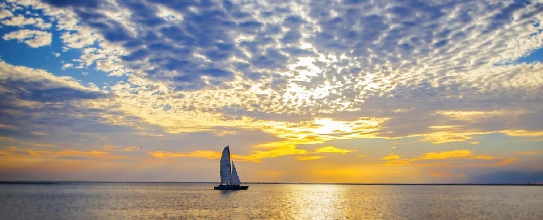Sailing on Amelia Island